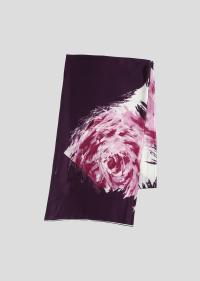 flower panel scarf 52276